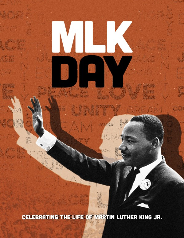 MLK Day Christian Church Flyer
