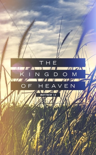 Kingdom of Heaven Wheat Church Bulletin Cover