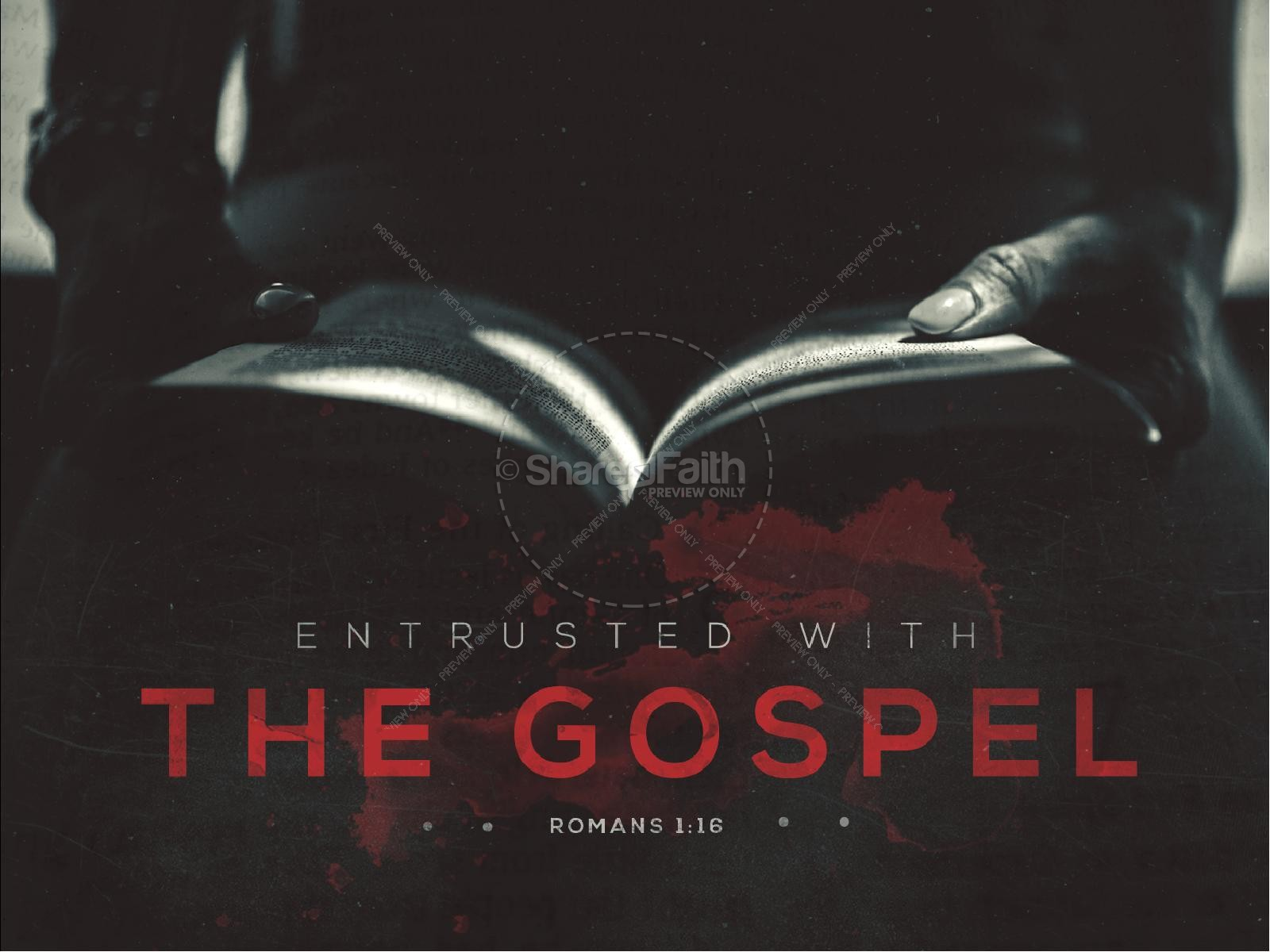 Entrusted With The Gospel Church PowerPoint