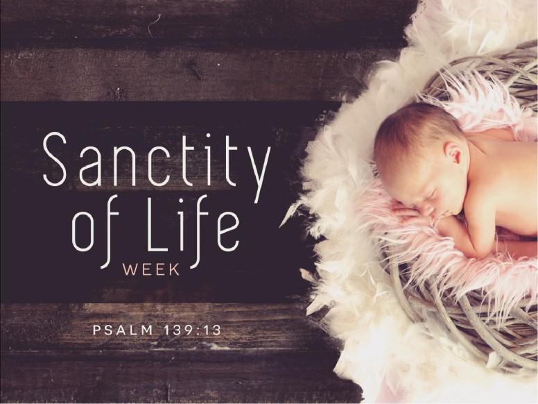 Sanctity of Life Week Church PowerPoint