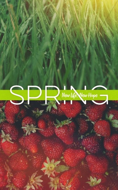New Life Spring Strawberry Sermon Bulletin