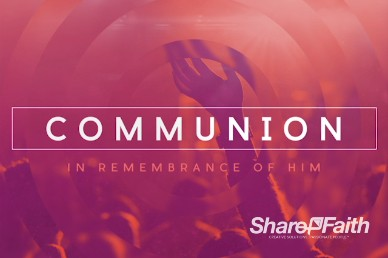 Hearing From God Communion Video Loop