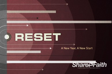 Reset for the New Year Christian Title Video