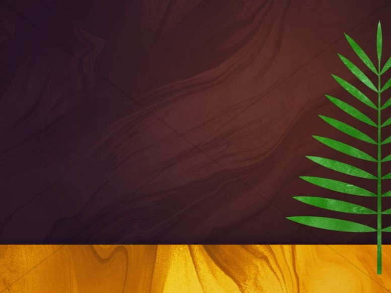 Palm Sunday Modern Church Worship Background