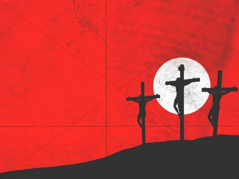 Famous Last Words Good Friday Worship Background