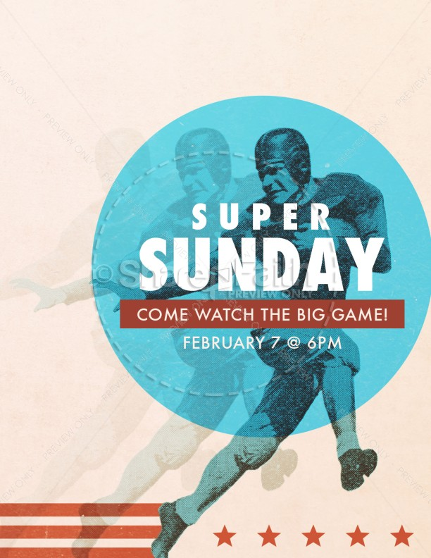 Super Sunday Church Flyer