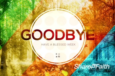God of All Seasons Goodbye Church Video Loop