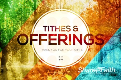 God of All Seasons Tithes and Offerings Church Video Loop