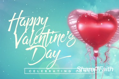 Celebrating Love Valentine's Day Title Video Loop