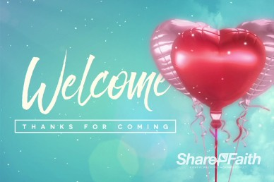 Celebrating Love Valentine's Day Welcome Video