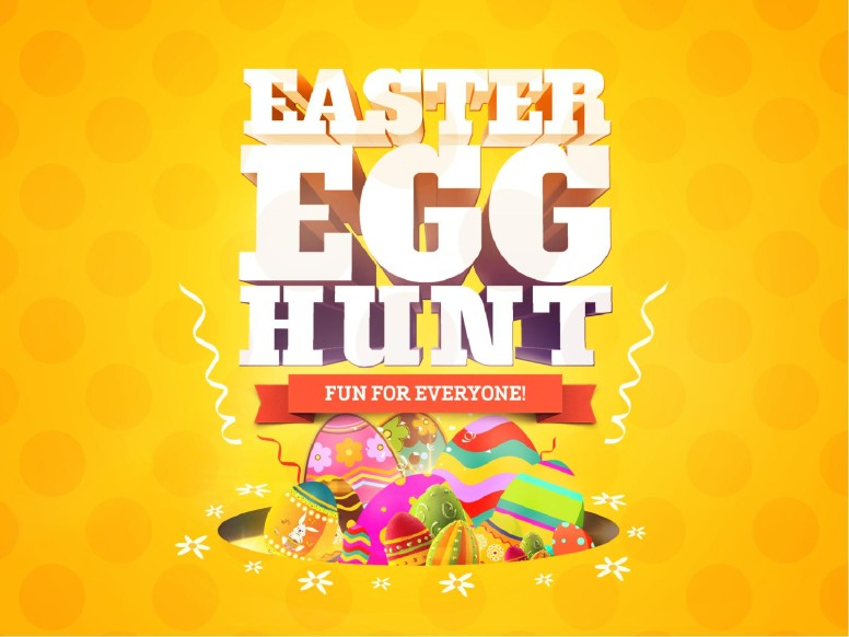 Easter Egg Hunt Church PowerPoint