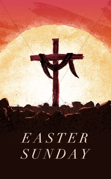 Easter Sunday Resurrection Church Bulletin