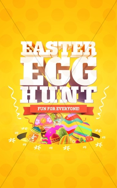 Easter Egg Hunt Church Bulletin
