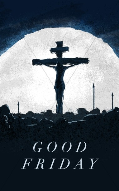 Good Friday Crucifixion Sermon Bulletin