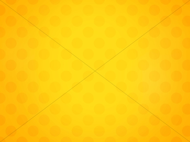 Yellow Polka Dot Easter Worship Background
