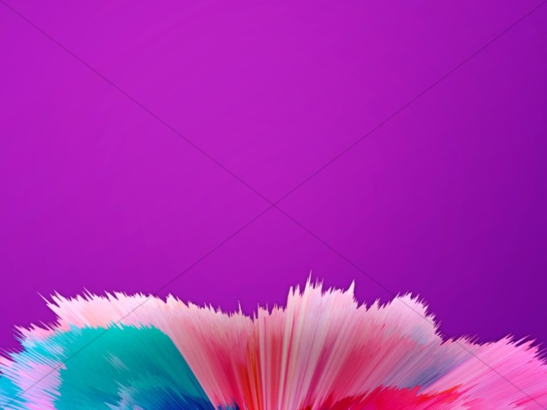 Abstract Color Splash Worship Background