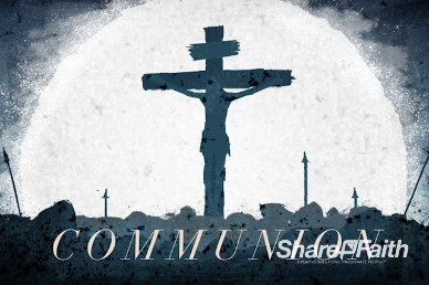 Good Friday Crucifixion Communion Video