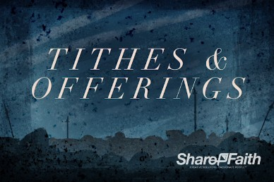 Good Friday Crucifixion Tithes and Offerings Video