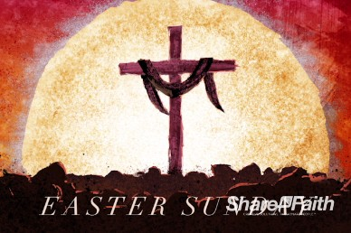 Easter Sunday Resurrection Church Title Video