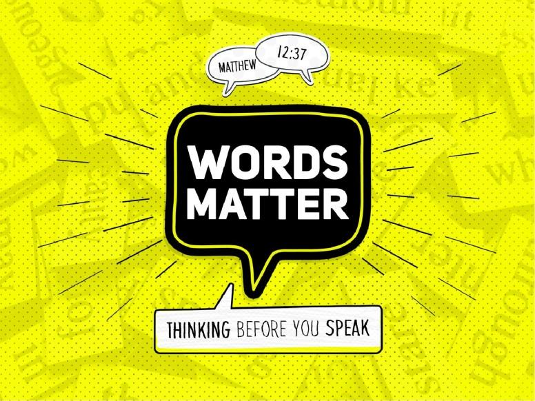 Words Matter Christian Church PowerPoint