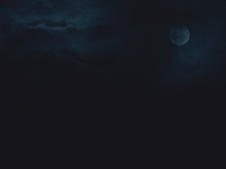 Midnight Moon Worship Background