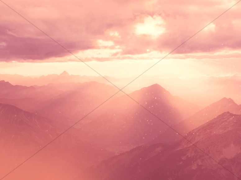 Heavenly Sunlight Worship Background