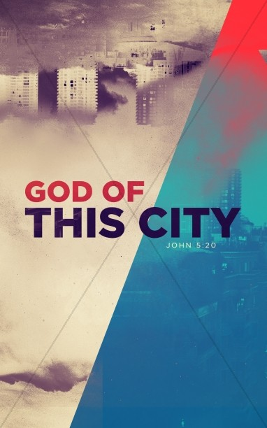 God of this City Church Bulletin