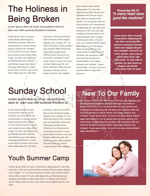 He's Alive Easter Church Newsletter | page 2