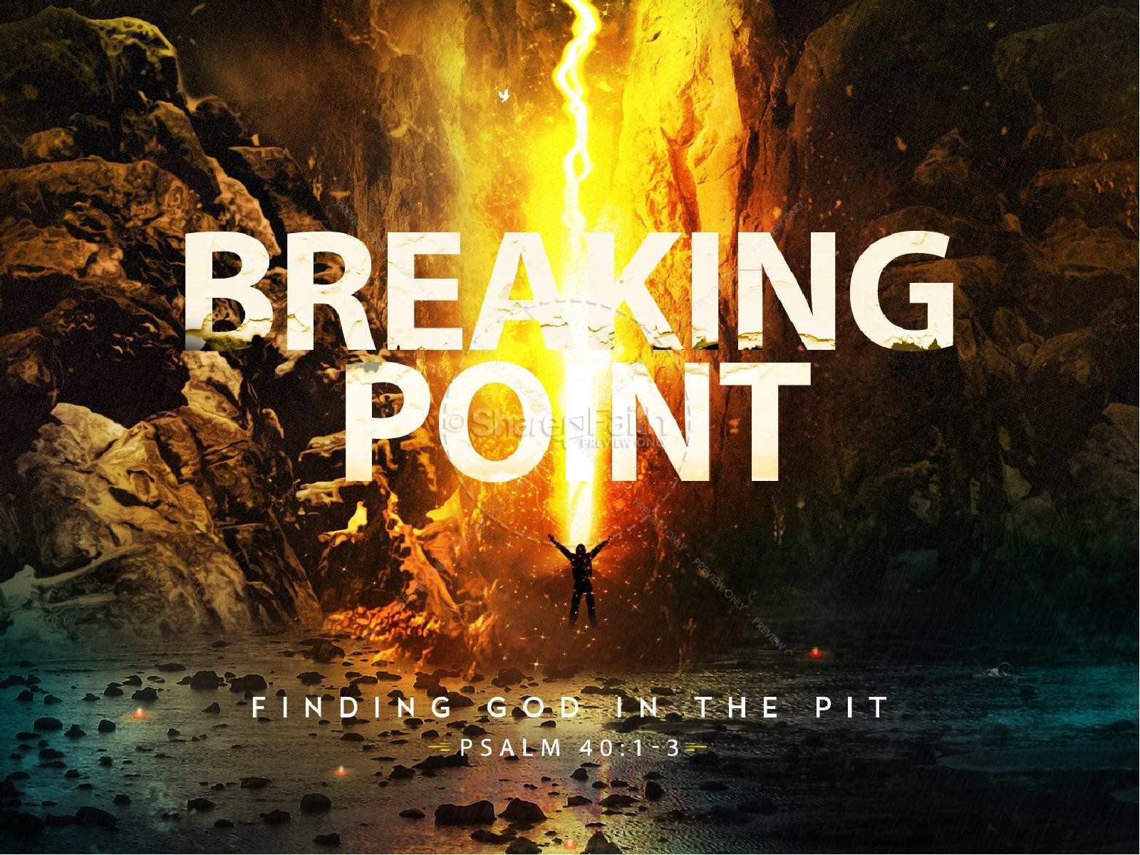 Breaking Point Church Sermon PowerPoint