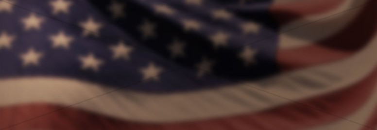 American Flag Old Glory Church Website Banner