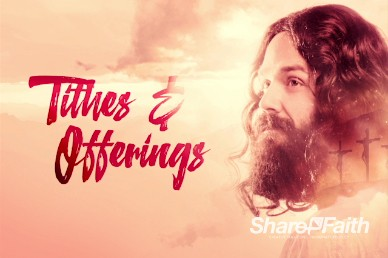 He's Alive Church Tithes and Offerings Video Loop