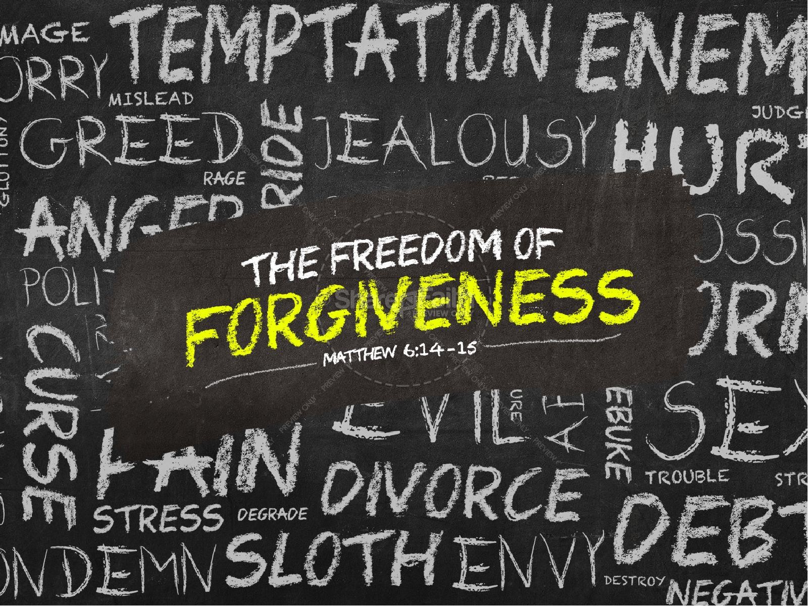 Freedom of Forgiveness Church PowerPoint