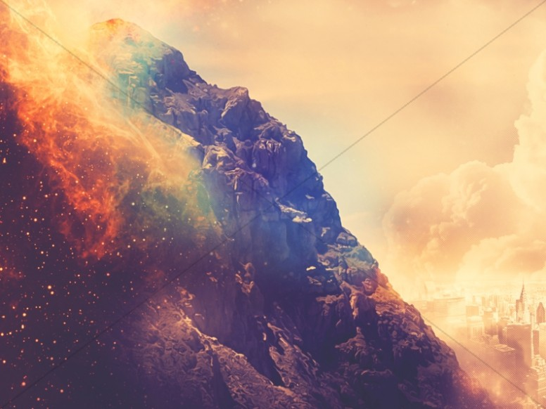 burning mountain church worship background worship backgrounds