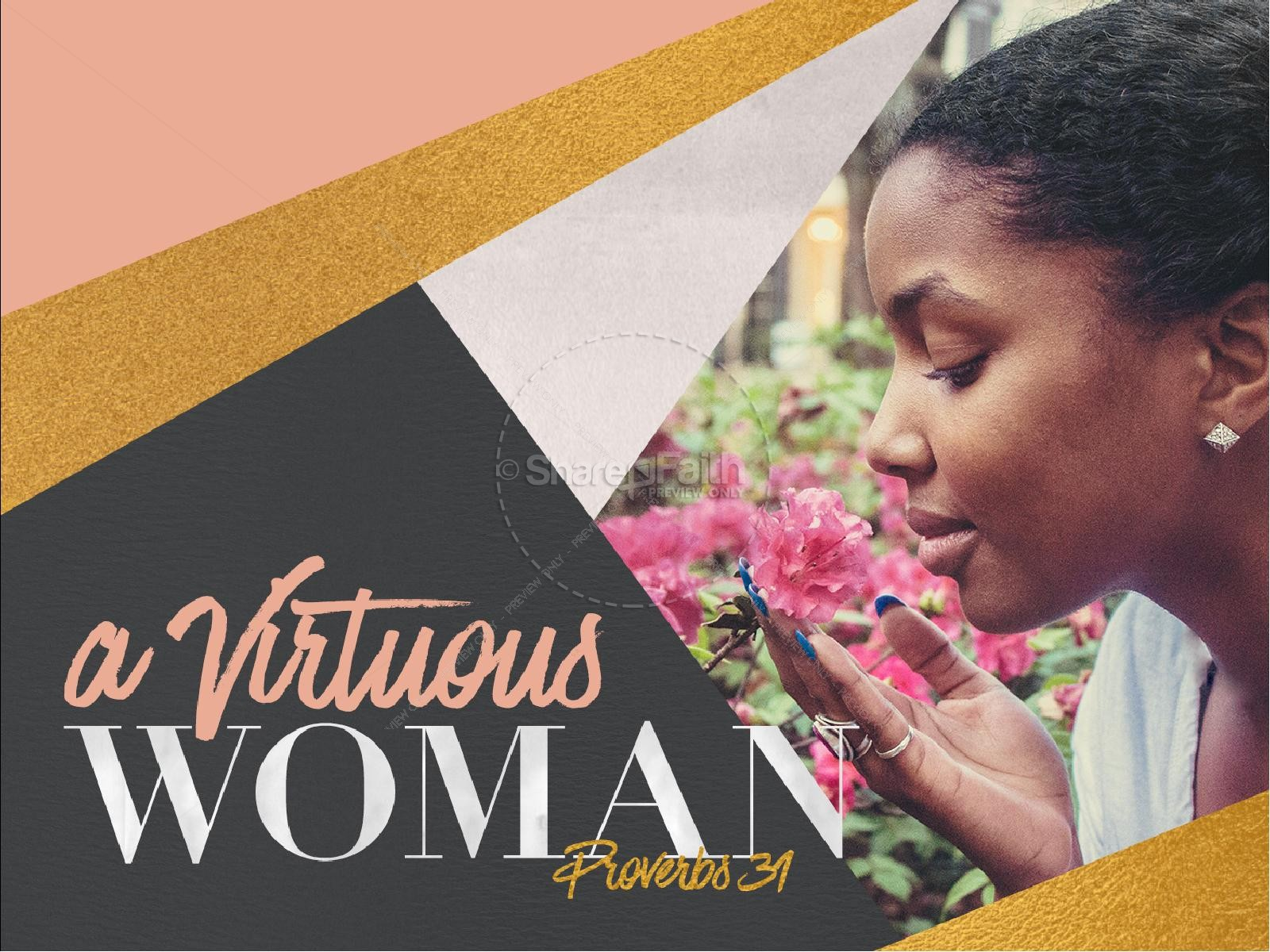 A Virtuous Woman Church PowerPoint