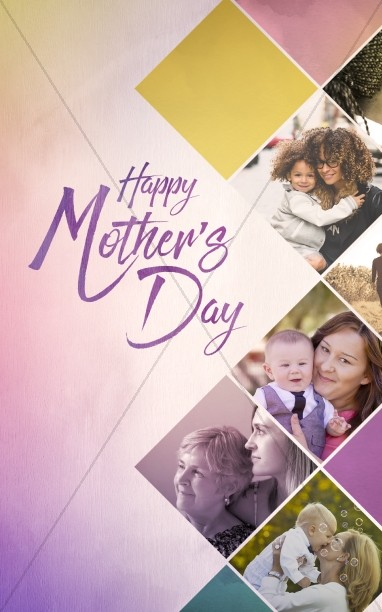Celebrating Mother's Day Church Bulletin