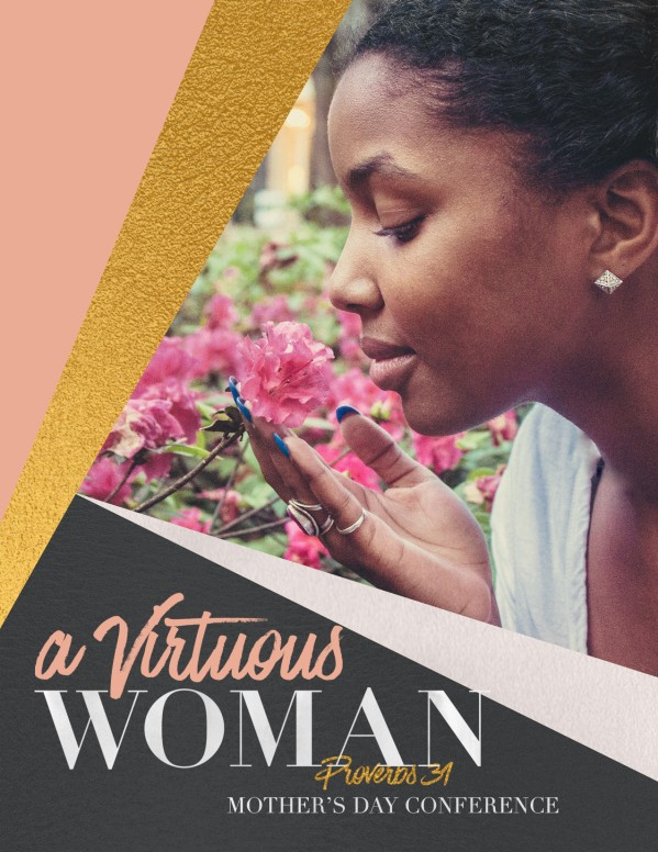 Virtuous Woman Church Flyer