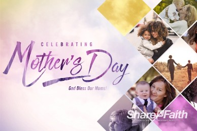 Celebrate Mother's Day Intro Motion Loop