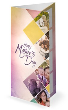 Celebrating Mother's Day Church Trifold Bulletin