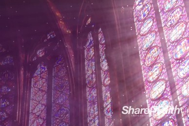 Cathedral Windows Worship Video Loop
