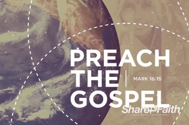 Preach the Gospel Title Motion Loop