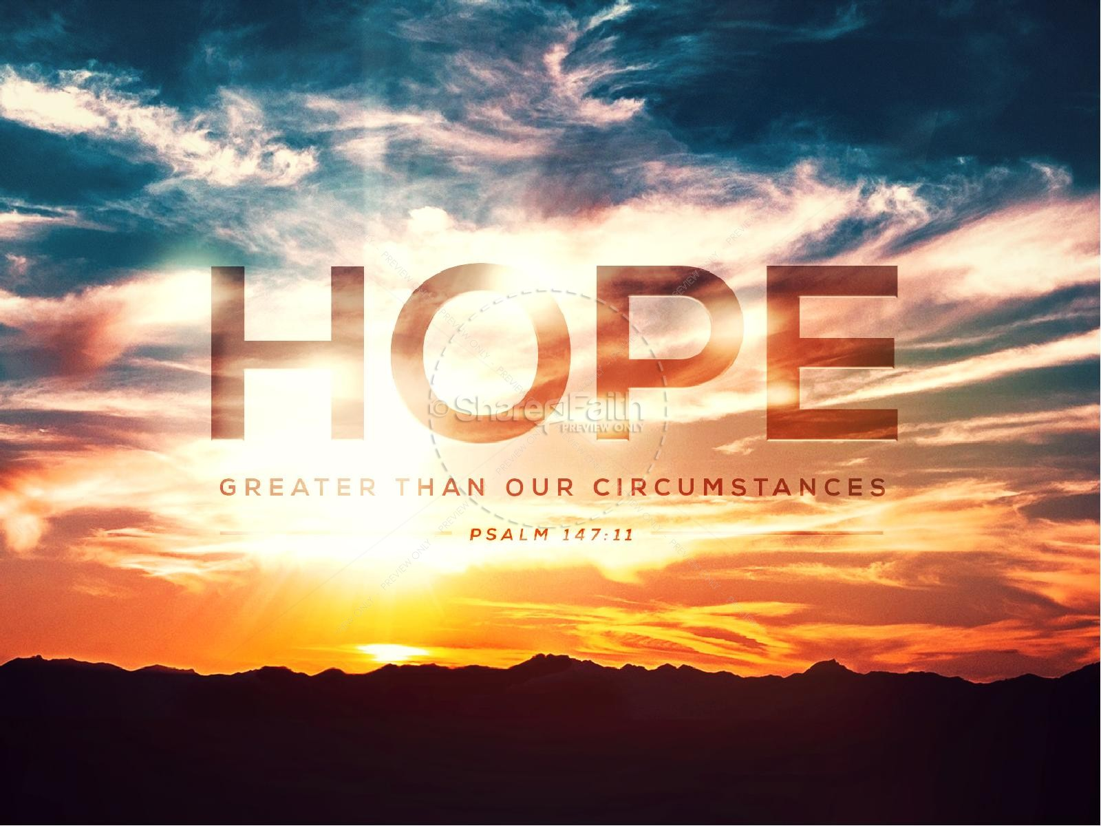 Hope on the Horizon Church PowerPoint