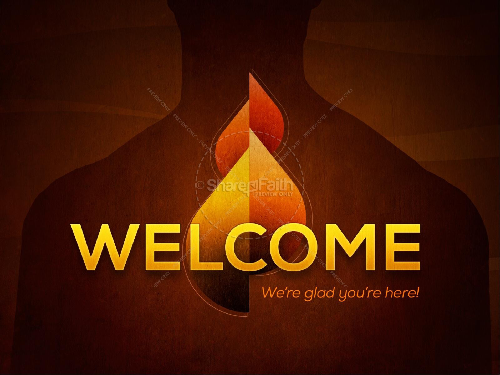 Pentecost God's Power Church PowerPoint