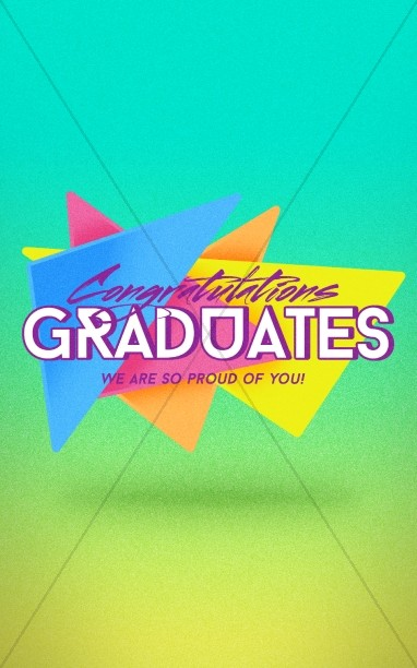 Congratulations Graduation Sunday Bulletin