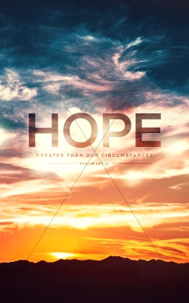 Hope on the Horizon Church Bulletin
