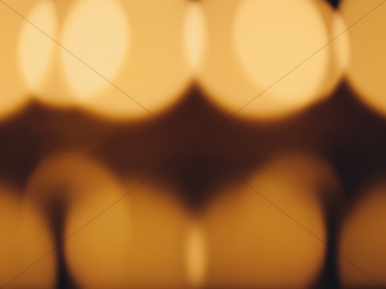 Candle Bokeh Worship Background