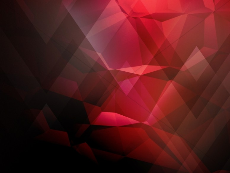 Red Geometric Worship Background