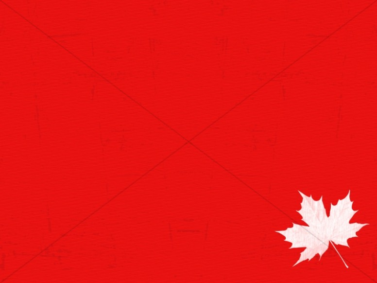 Happy Canada Day Church Worship Background