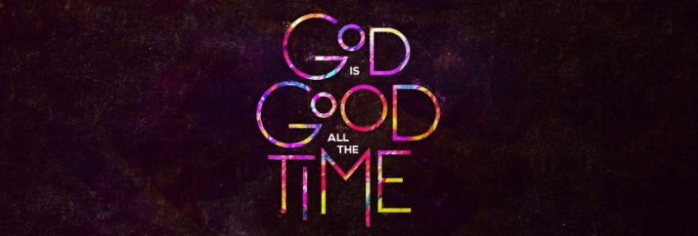 God is Good Church Website Banner