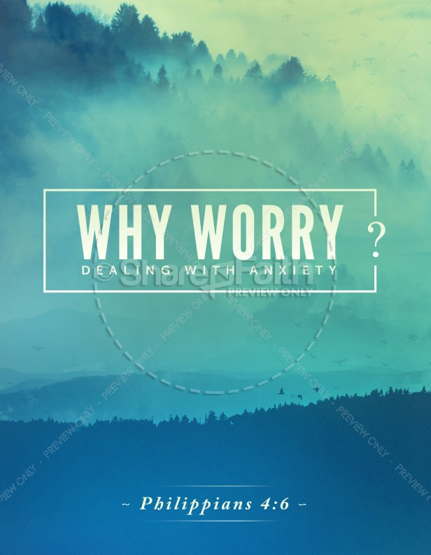 Why Worry Church Flyer
