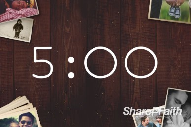 Father's Day Photos Countdown Timer Video